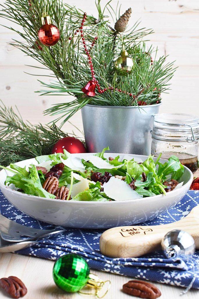 Tasty Christmas salad