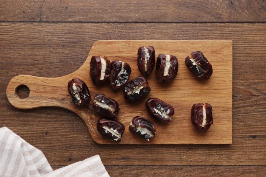 Stilton Stuffed Dates Wrapped in Pancetta recipe - step 3