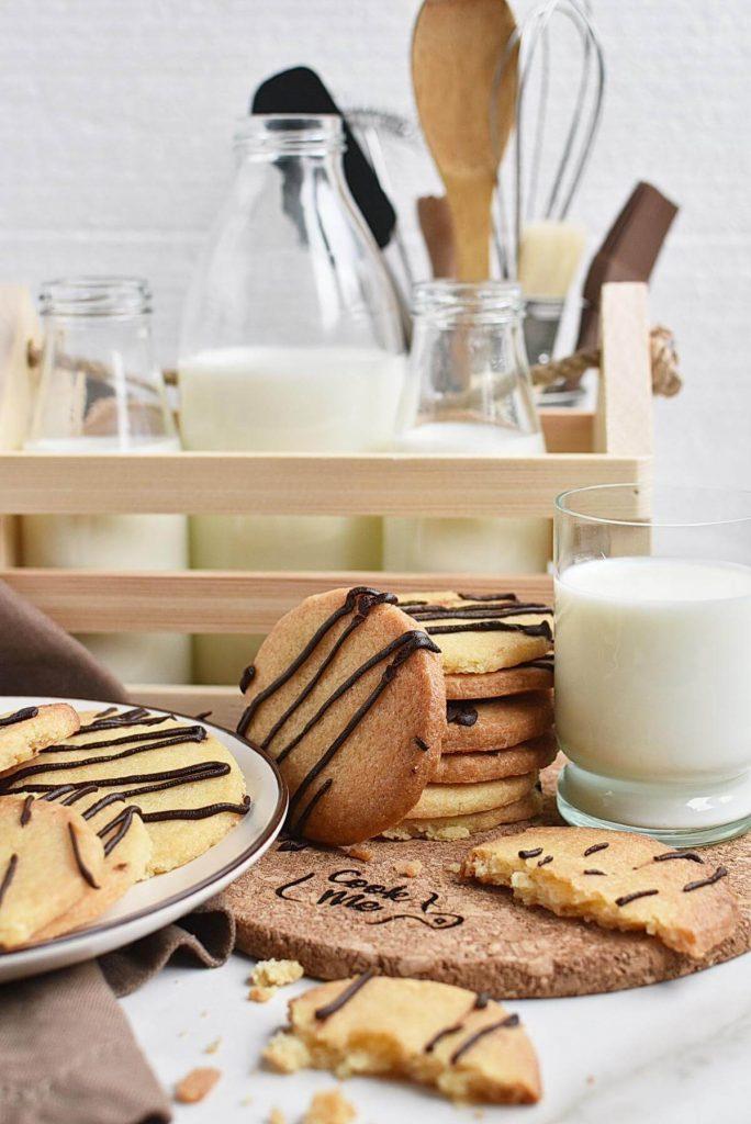 Sugar Free Shortbread Cookies
