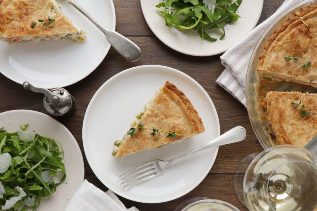 How to serve The Best Chicken Pot Pie