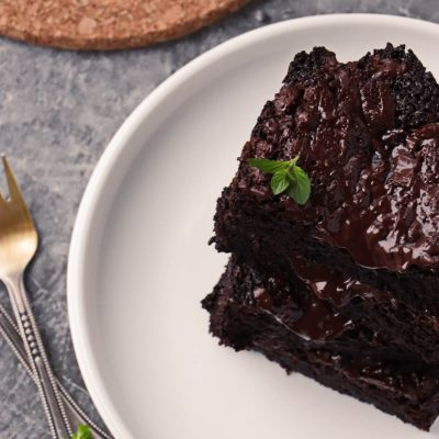 Vegan Brownies (Small Batch) Recipe-Vegan Brownies for Two-Simple Vegan Brownies