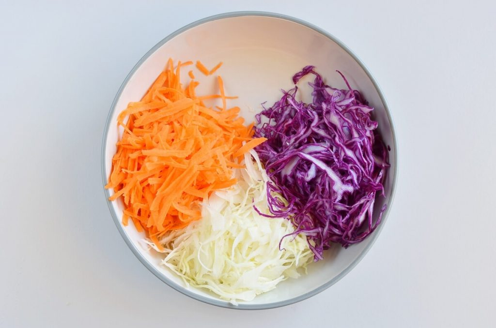 Vegan No Mayo Coleslaw recipe - step 1