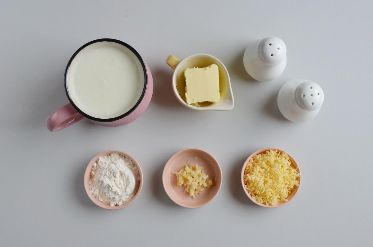 Ingridiens for White Pizza Sauce Recipe