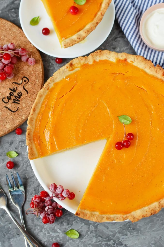 Bourbon Pumpkin Pie