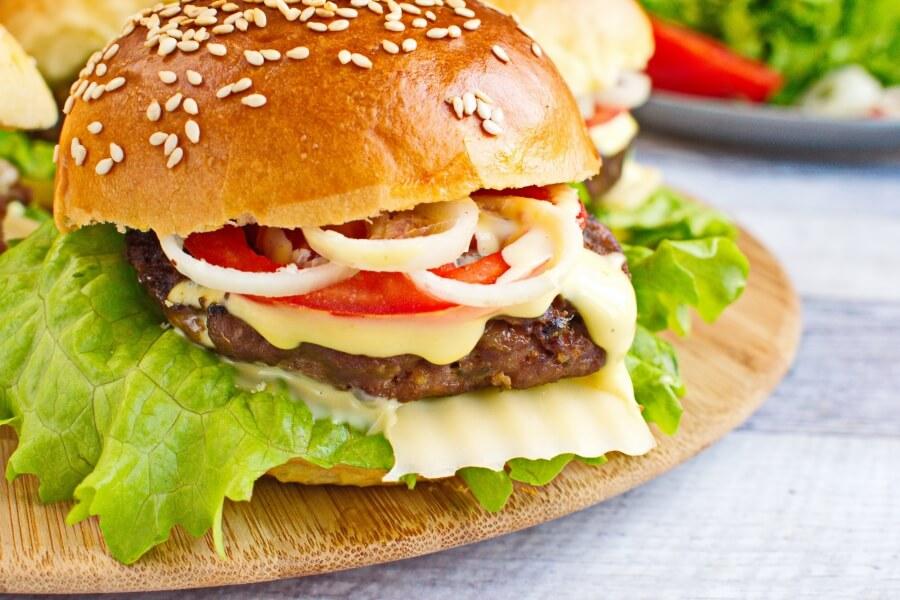 Burger Recipes-Best Burger Recipes-Homemade Beef Burger Recipe