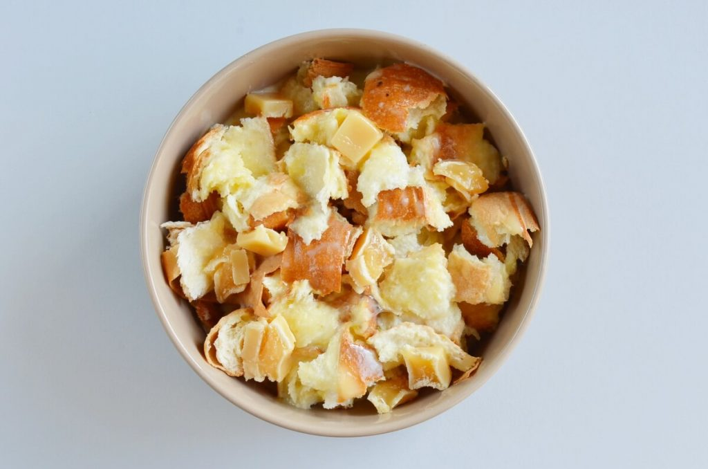 Caramel Bread Pudding for Two recipe - step 4