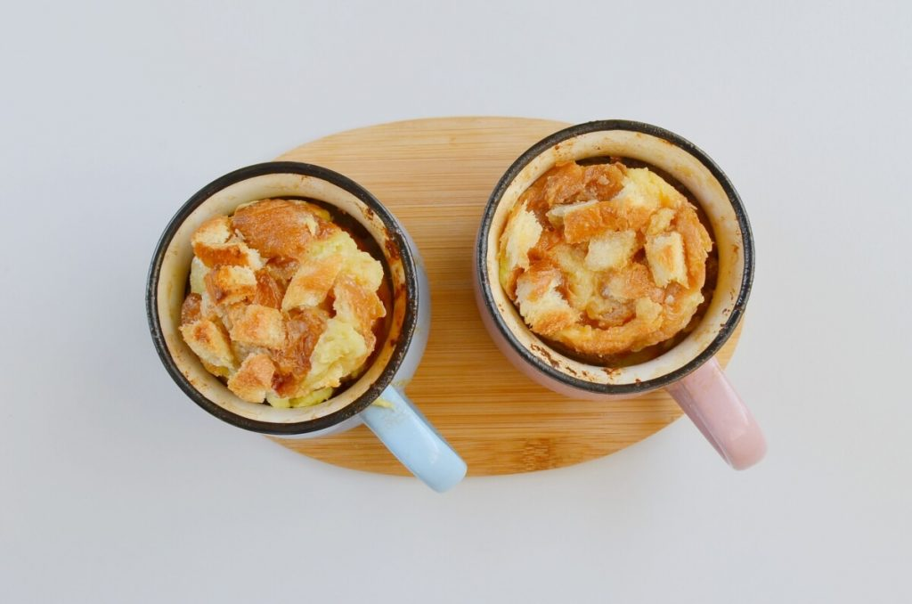 Caramel Bread Pudding for Two recipe - step 7
