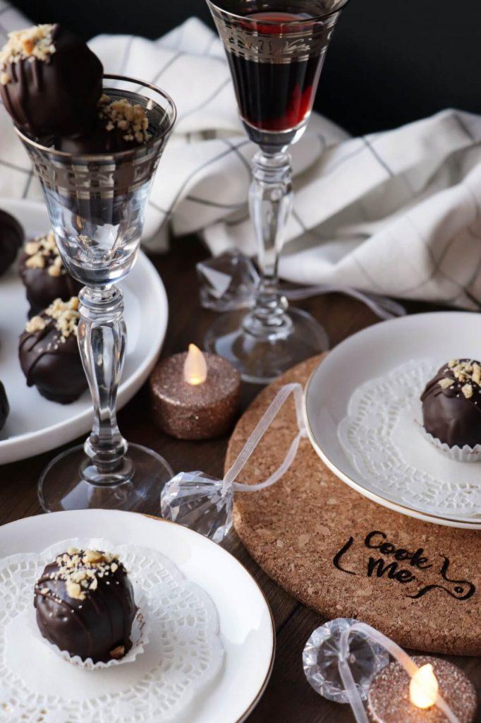 Chocolate Hazelnut Cake Balls