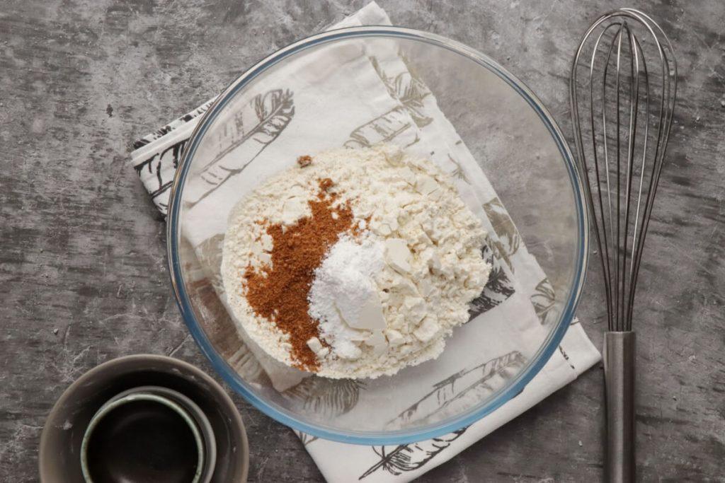 Dairy-Free Vanilla Crepes with Aquafaba Cream recipe - step 1
