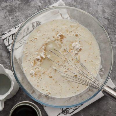 Dairy-Free Vanilla Crepes with Aquafaba Cream recipe - step 2