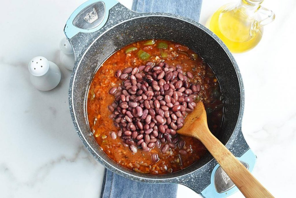 Easy Vegetarian Mushroom Chili recipe - step 6