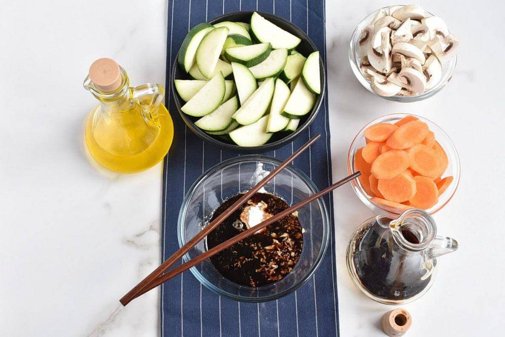 Easy Zucchini Stir Fry recipe - step 1
