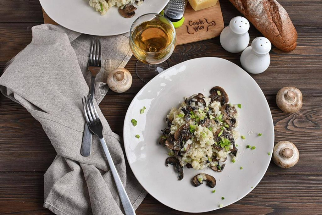 How to serve Gourmet Mushroom Risotto