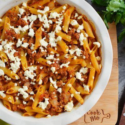 Greek Pasta Bake Recipe-How To Make Greek Pasta Bake-Delicious Greek Pasta Bake