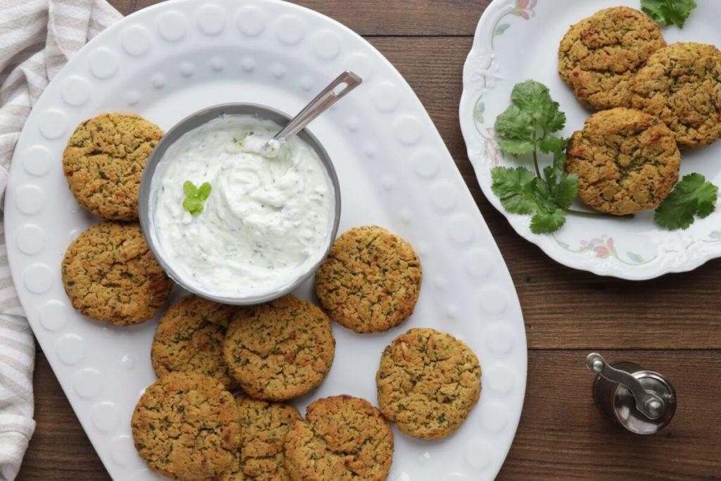 How to serve Healthy Baked Falafel