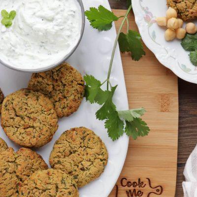 Healthy Baked Falafel Recipe-Crispy Falafel Recipe-Easy Baked Falafel