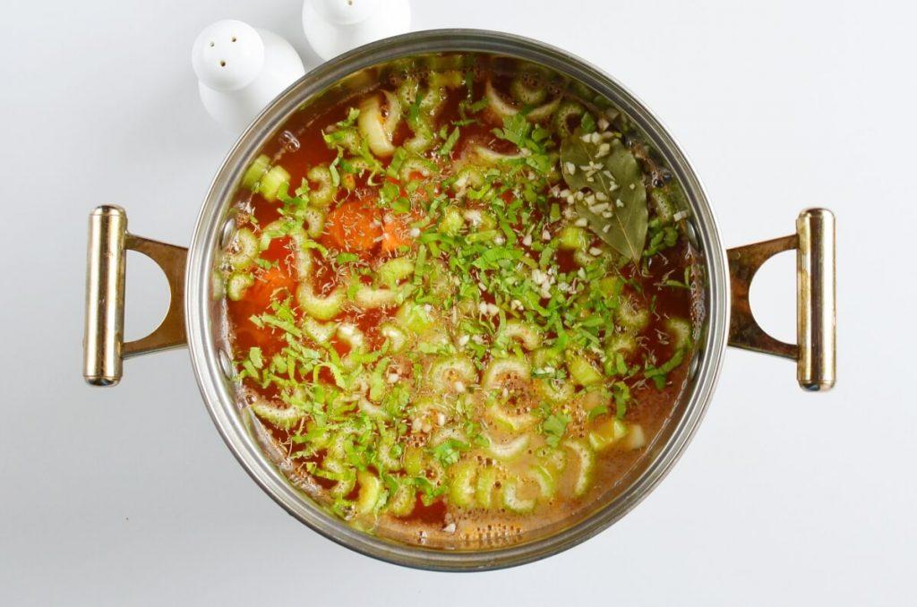 Hearty Hamburger Soup recipe - step 4