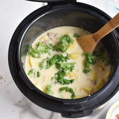 Instant Pot Zuppa Toscana recipe - step 6