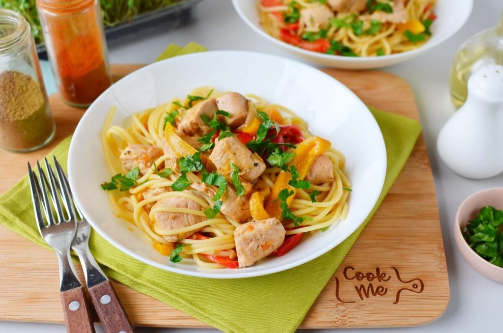 How to serve Mexican Chicken Pasta