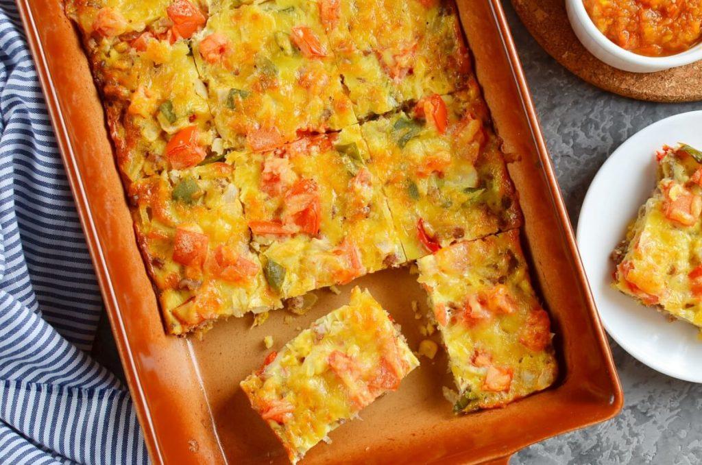 How to serve Mexican Corn Bread Casserole