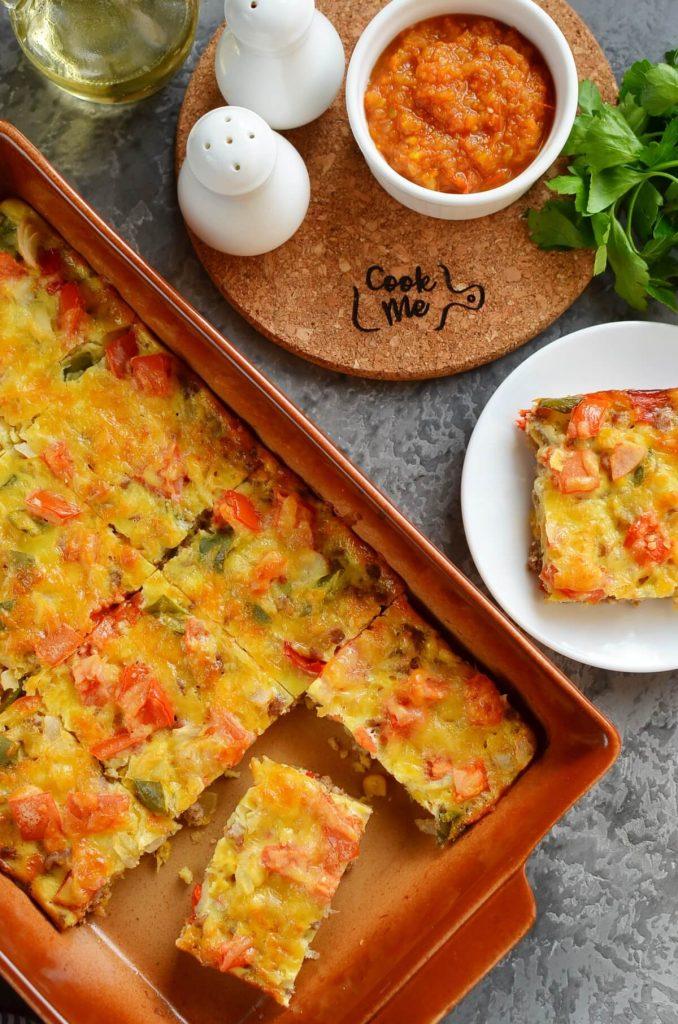 Mexican Corn Bread Casserole