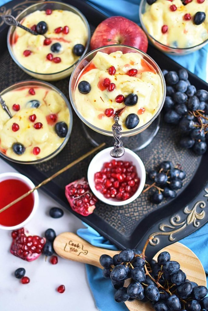 Simple and healthy dessert