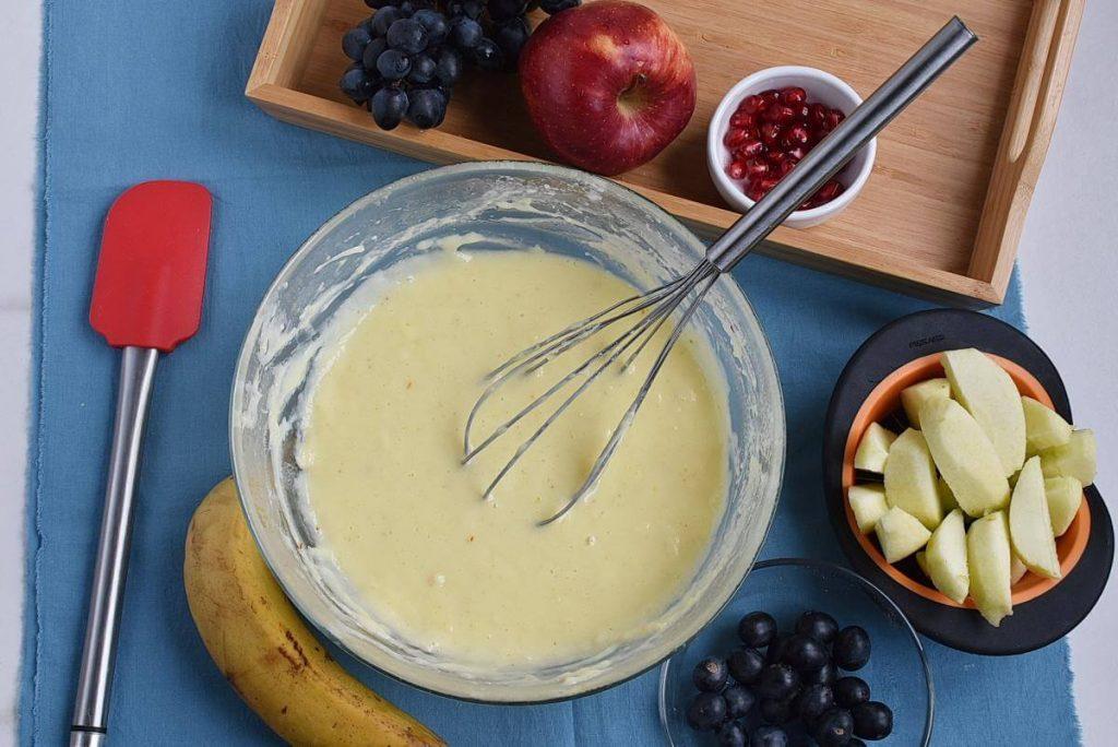 Microwave Eggless Fruit Custard recipe - step 4