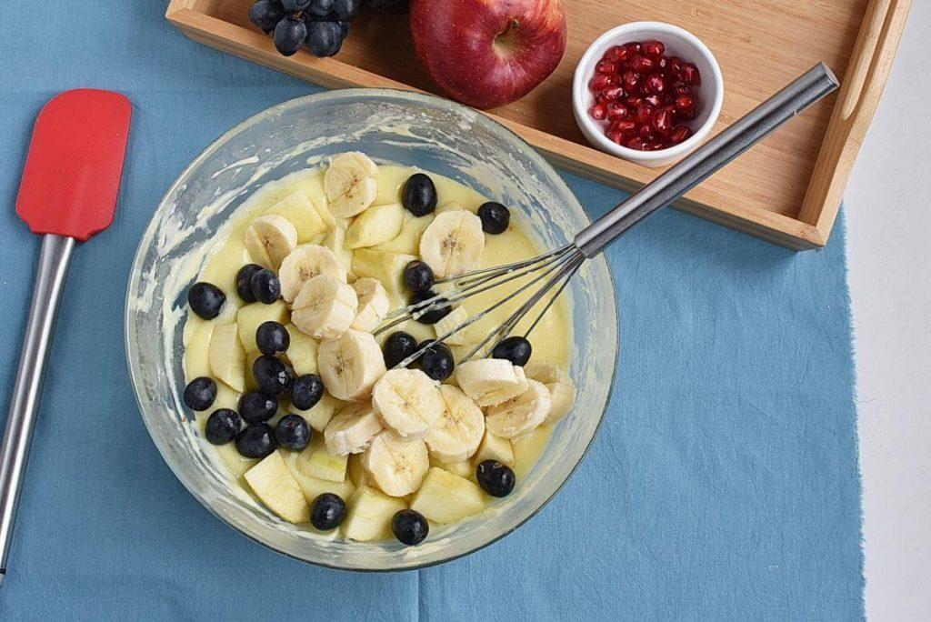 Microwave Eggless Fruit Custard recipe - step 5