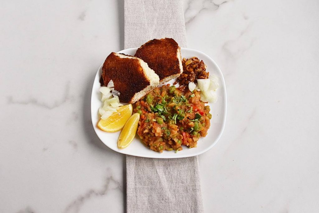 How to serve Pav Bhaji – Indian curry