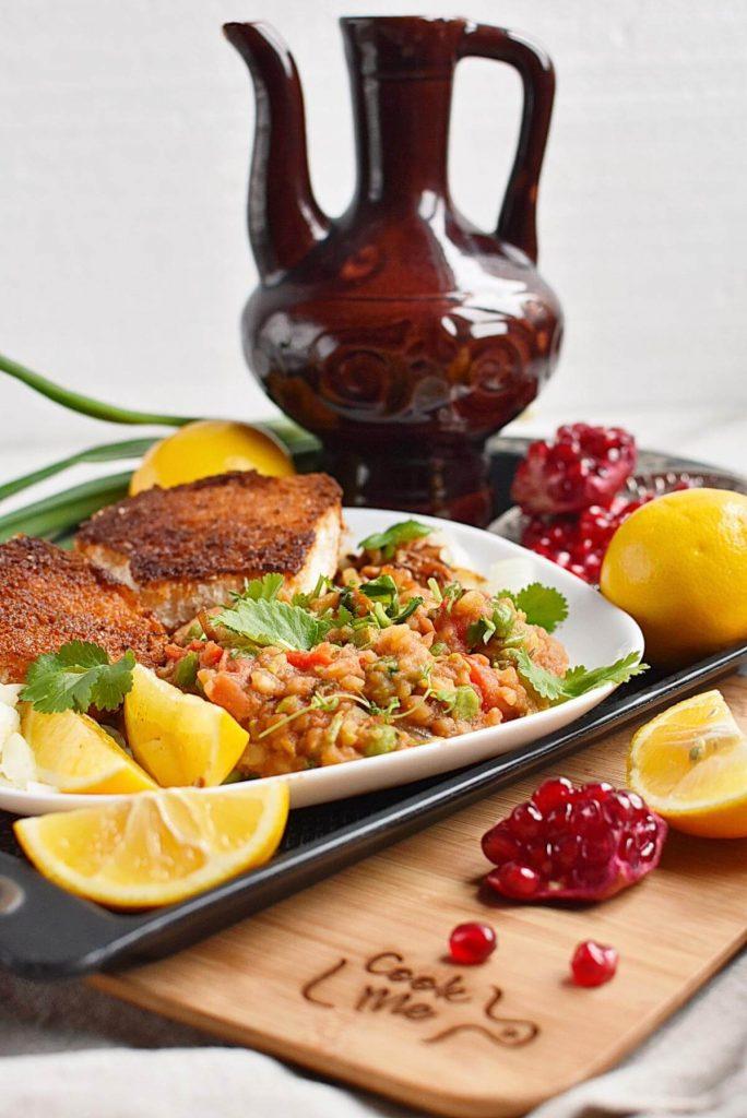 Pav Bhaji – Indian curry