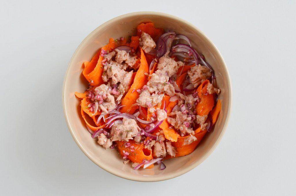 Quick Lentil Salmon Salad recipe - step 3