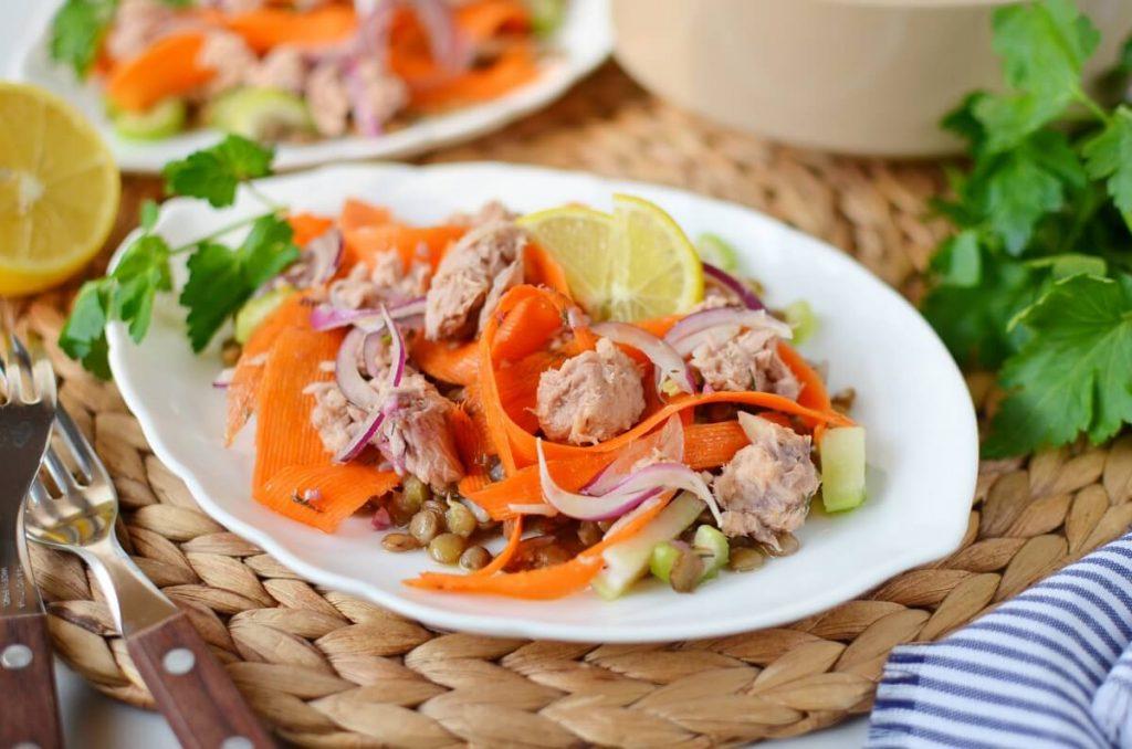 How to serve Quick Lentil Salmon Salad