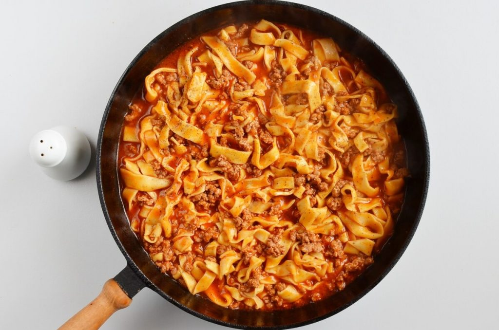 Quick One-Pan Pasta Bolognese recipe - step 6