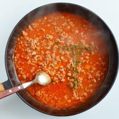 Quick One-Pan Pasta Bolognese recipe - step 4