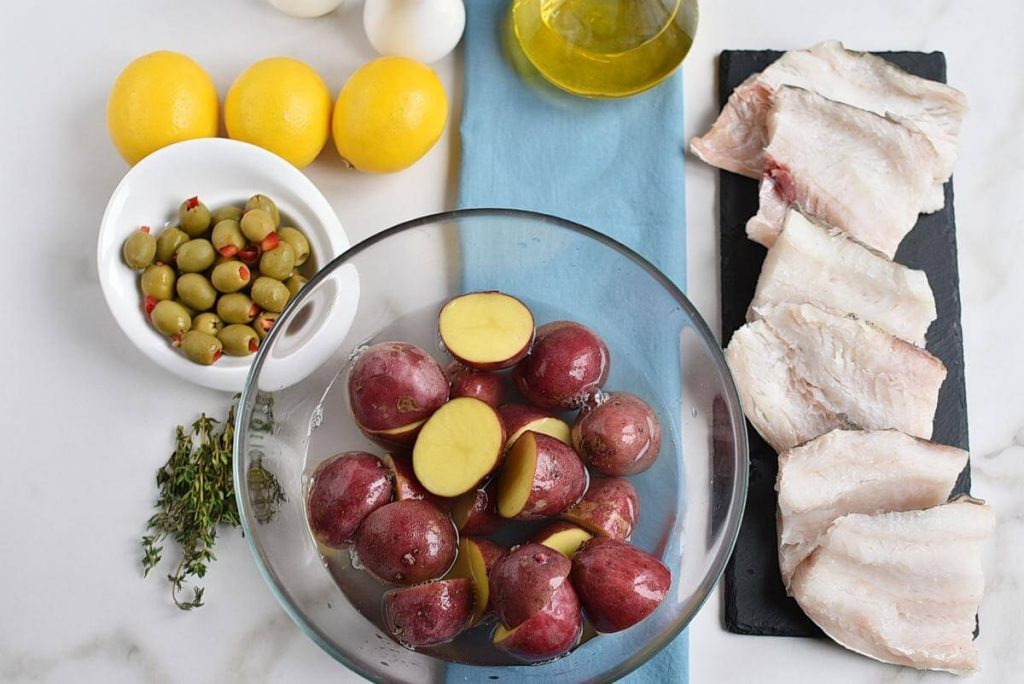 Roasted Cod with Olives and Lemon recipe - step 3
