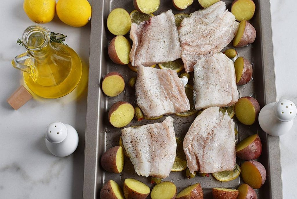 Roasted Cod with Olives and Lemon recipe - step 6