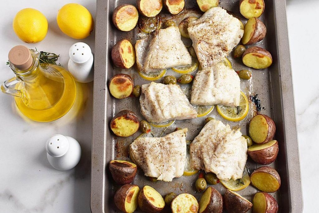 Roasted Cod with Olives and Lemon recipe - step 7