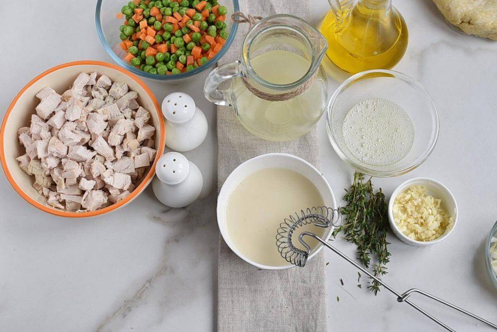 Skillet Chicken Pot Pie recipe - step 2