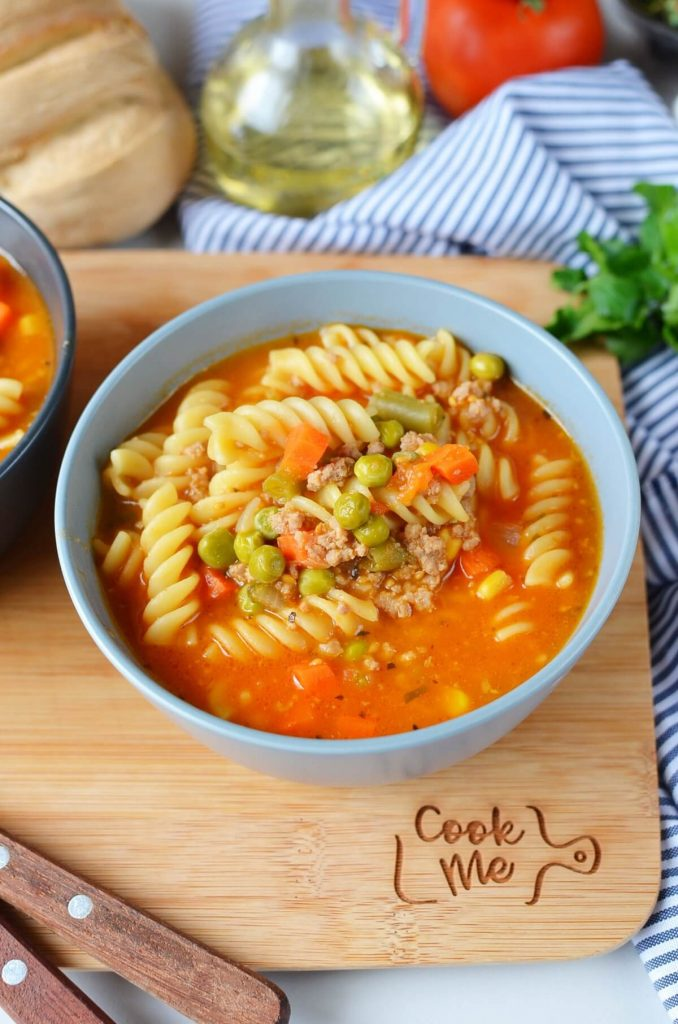 Vegetable Beef Noodle Soup