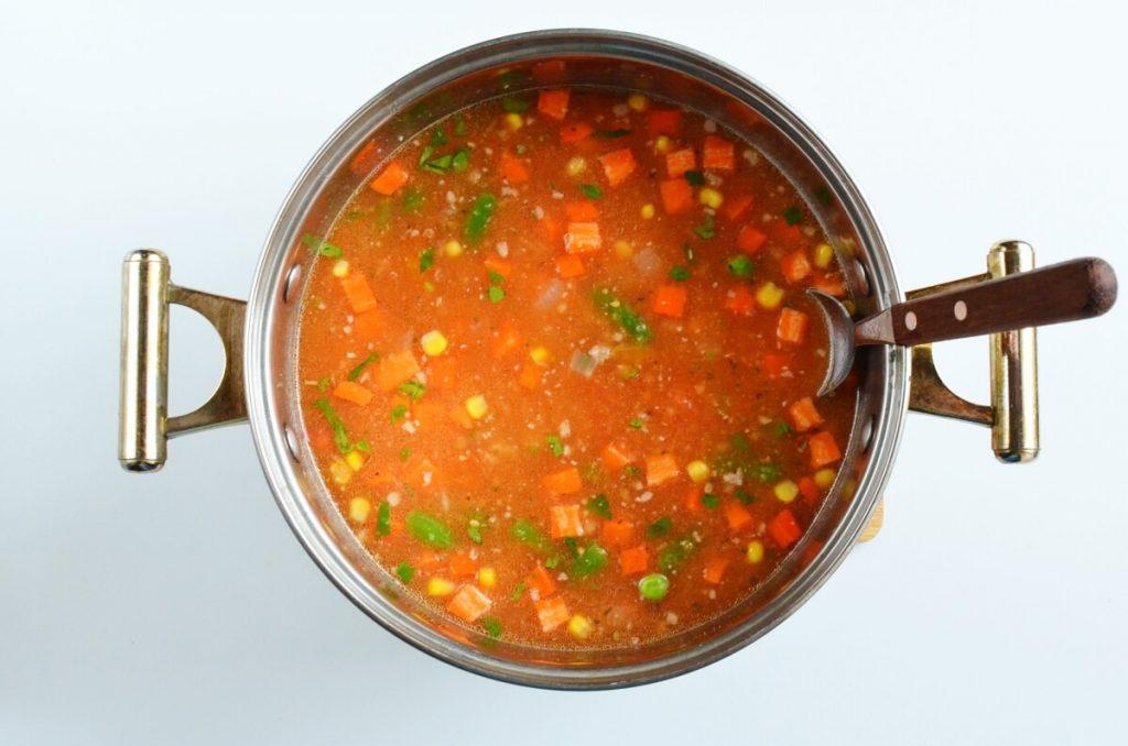 Vegetable Beef Noodle Soup recipe - step 4