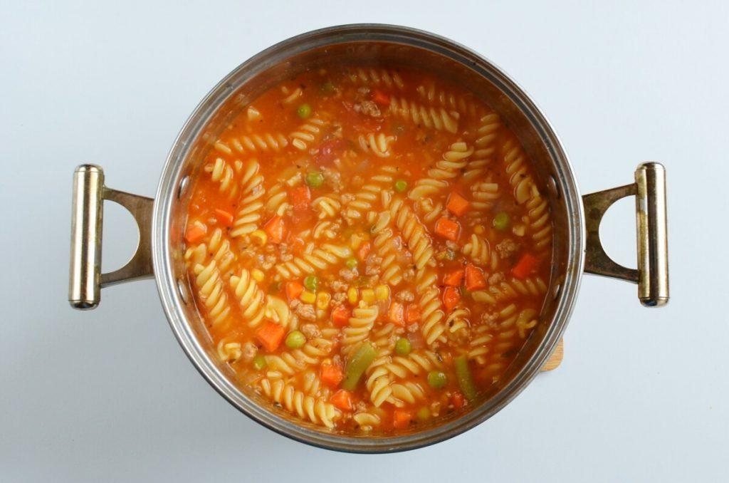 Vegetable Beef Noodle Soup recipe - step 6
