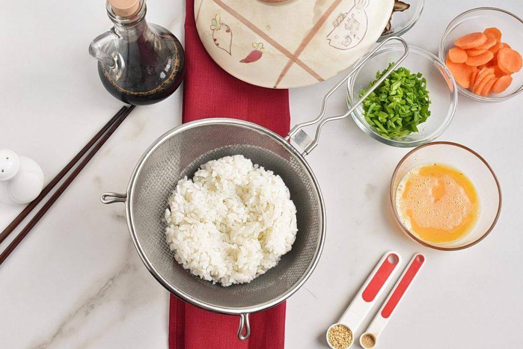 Zosui – Japanese Rice Soup recipe - step 2