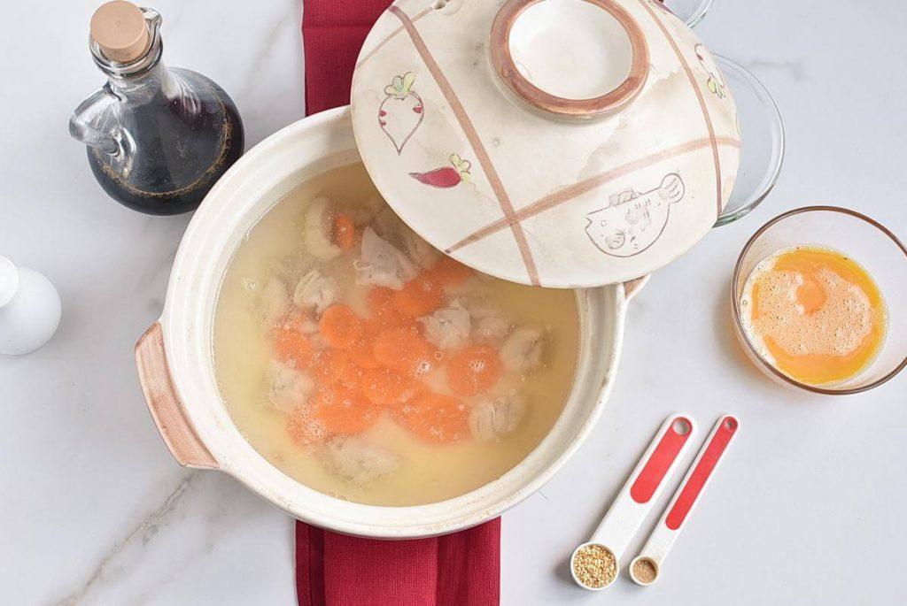 Zosui – Japanese Rice Soup recipe - step 4