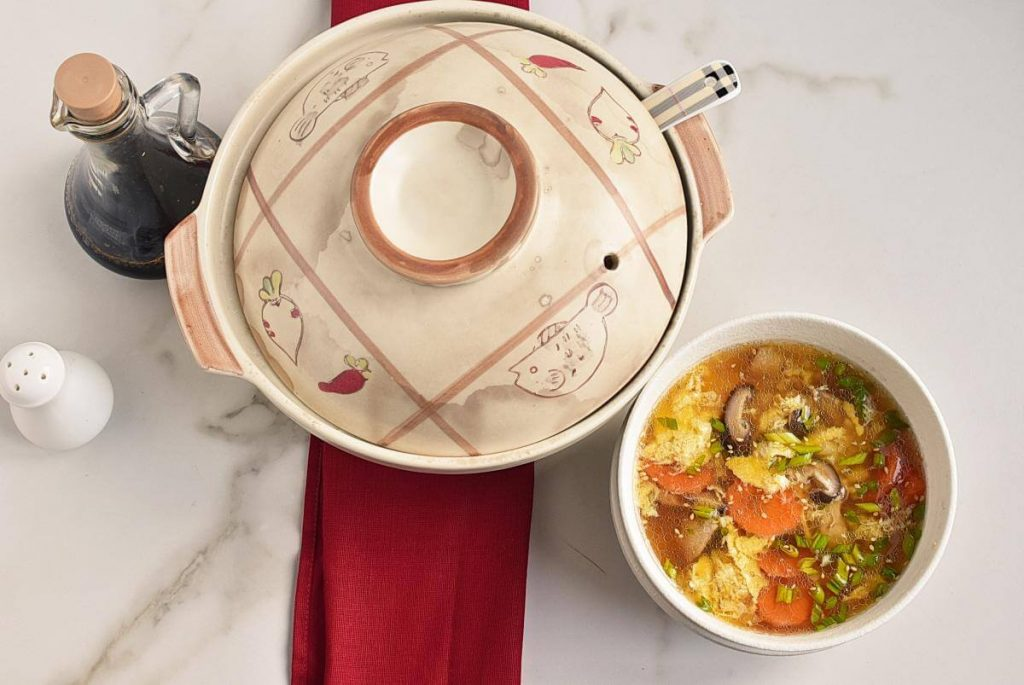 How to serve Zosui – Japanese Rice Soup