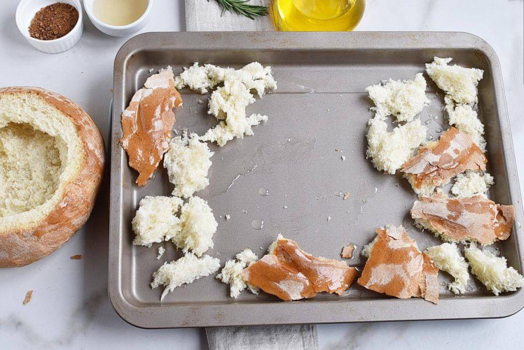 Baked Brie in a Sourdough Bread Bowl recipe - step 3