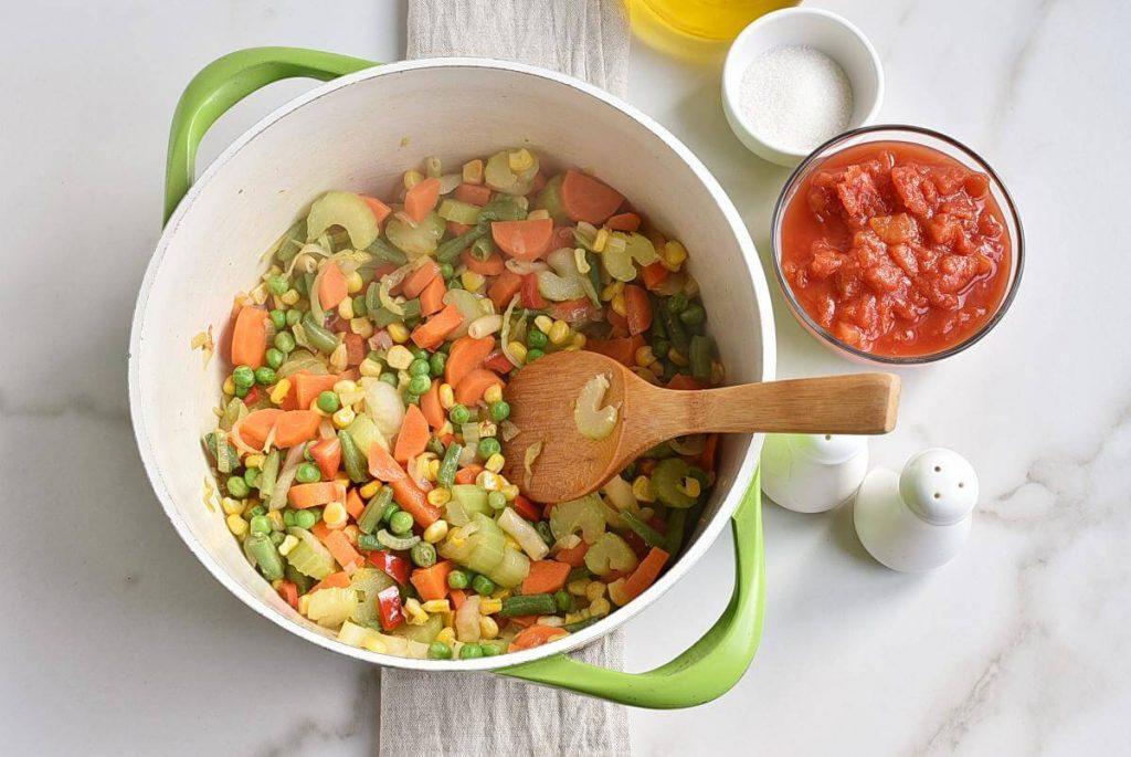 Beef Barley Vegetable Soup recipe - step 2
