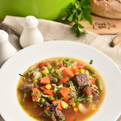 Beef Barley Vegetable Soup Recipes–Homemade Beef Barley Vegetable Soup–Eazy Beef Barley Vegetable Soup