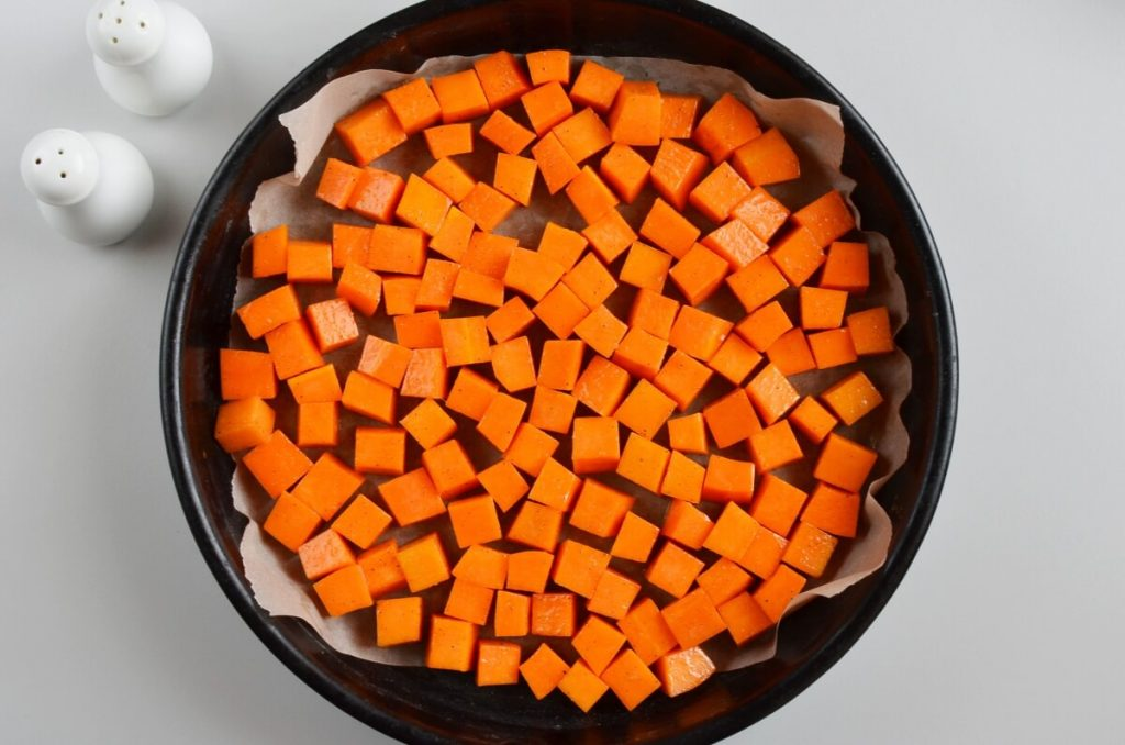 Butternut Squash Quinoa Salad with Pumpkin Seeds recipe - step 3