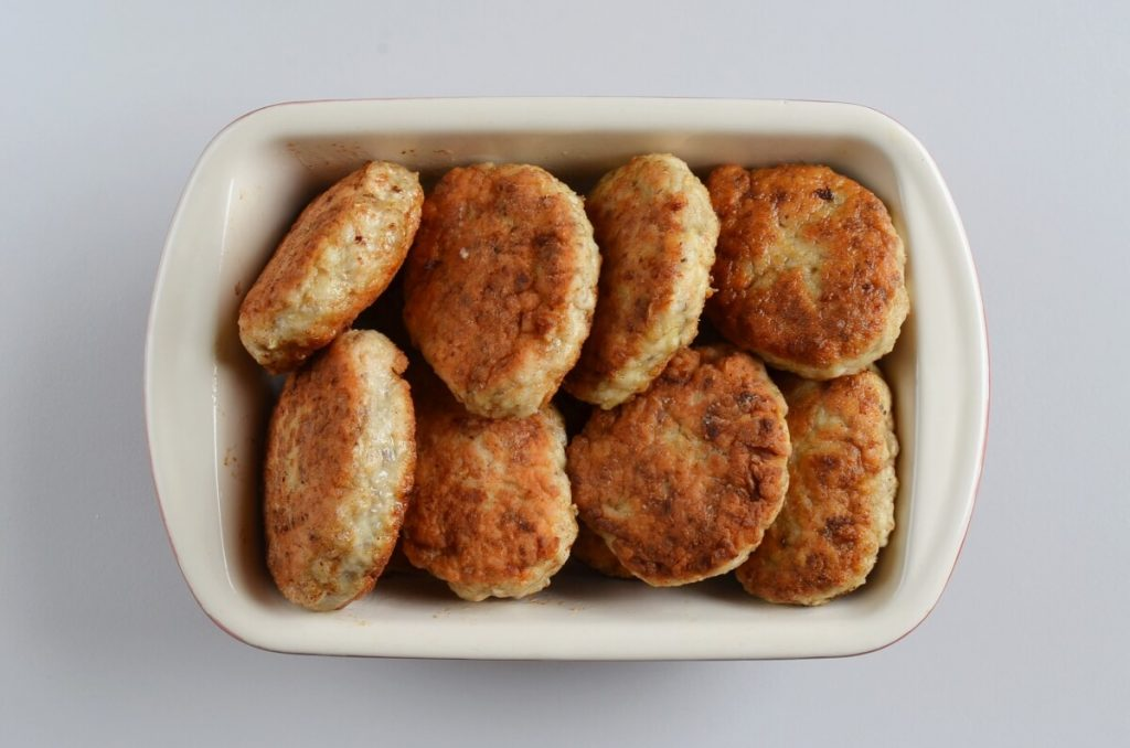 Chicken and Mushroom Patties (Russian Kotlety) recipe - step 6