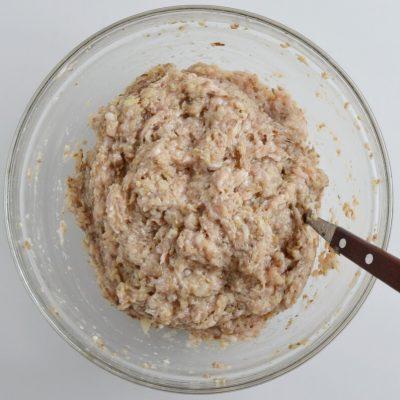 Chicken and Mushroom Patties (Russian Kotlety) recipe - step 2
